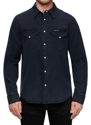 Calvin Klein Jean Gömlek İndigo